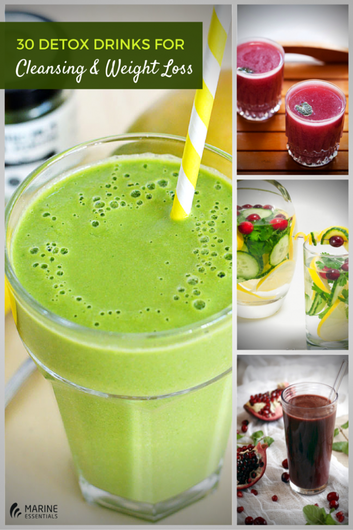 Check Out These DIY 12 Detox Drinks For Cleansing and Weight Loss ...