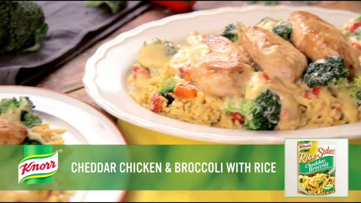 Cheddar Chicken & Broccoli Rice | Simple Dinner Recipe from Knorr® - Easy Recipes Knorr