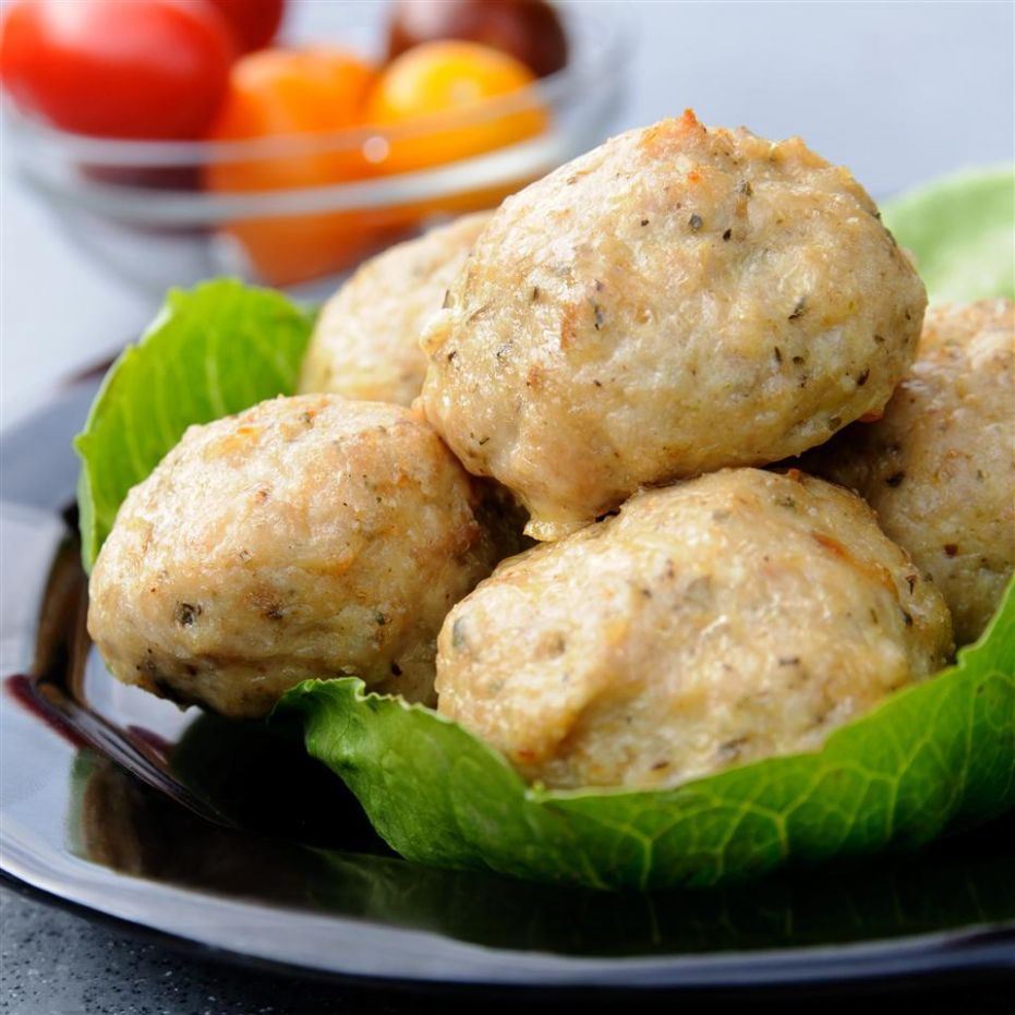 Cheese and Herb Chicken Meatballs - Recipes Chicken Mince