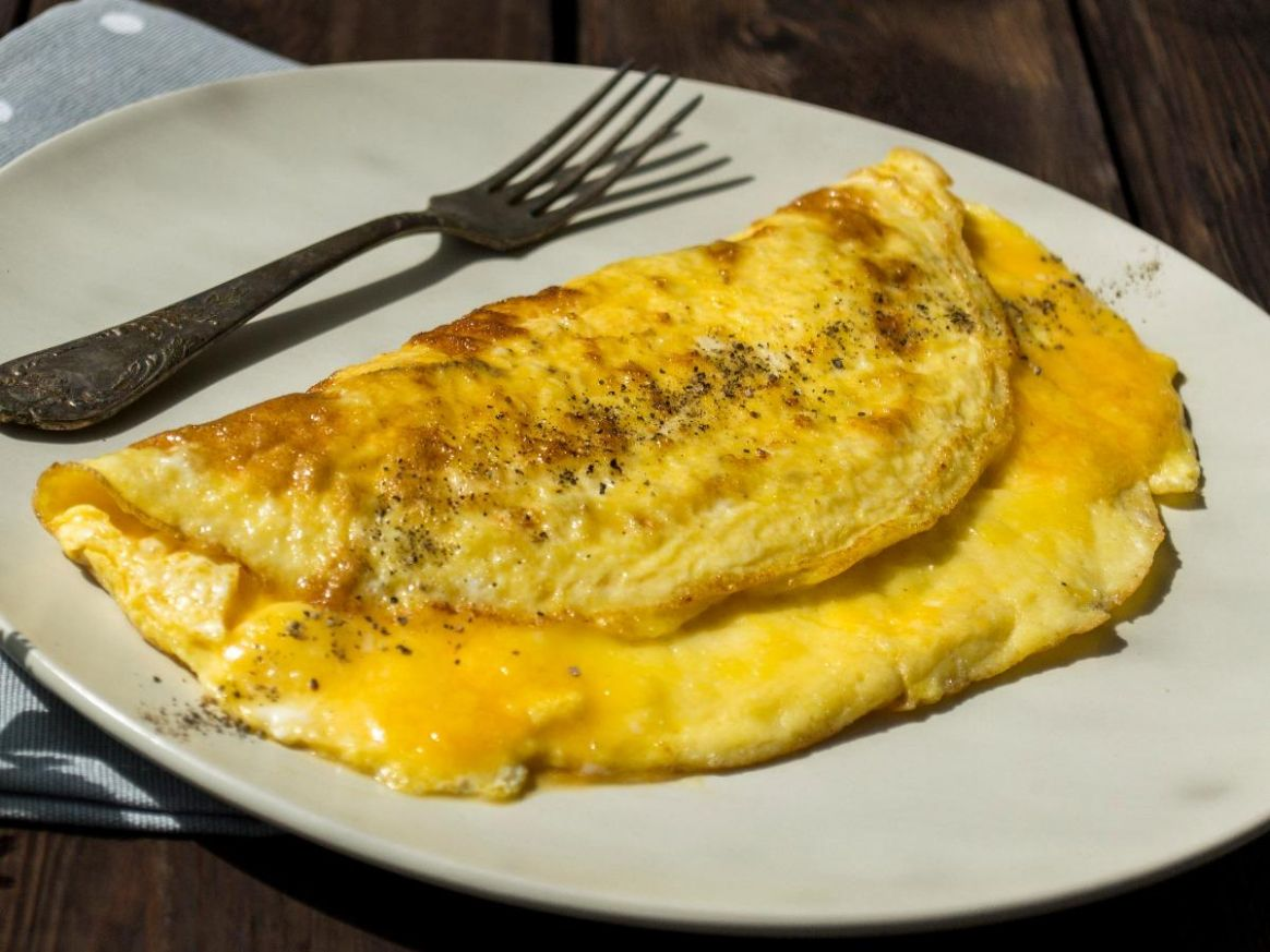 Cheese Egg White Omelette