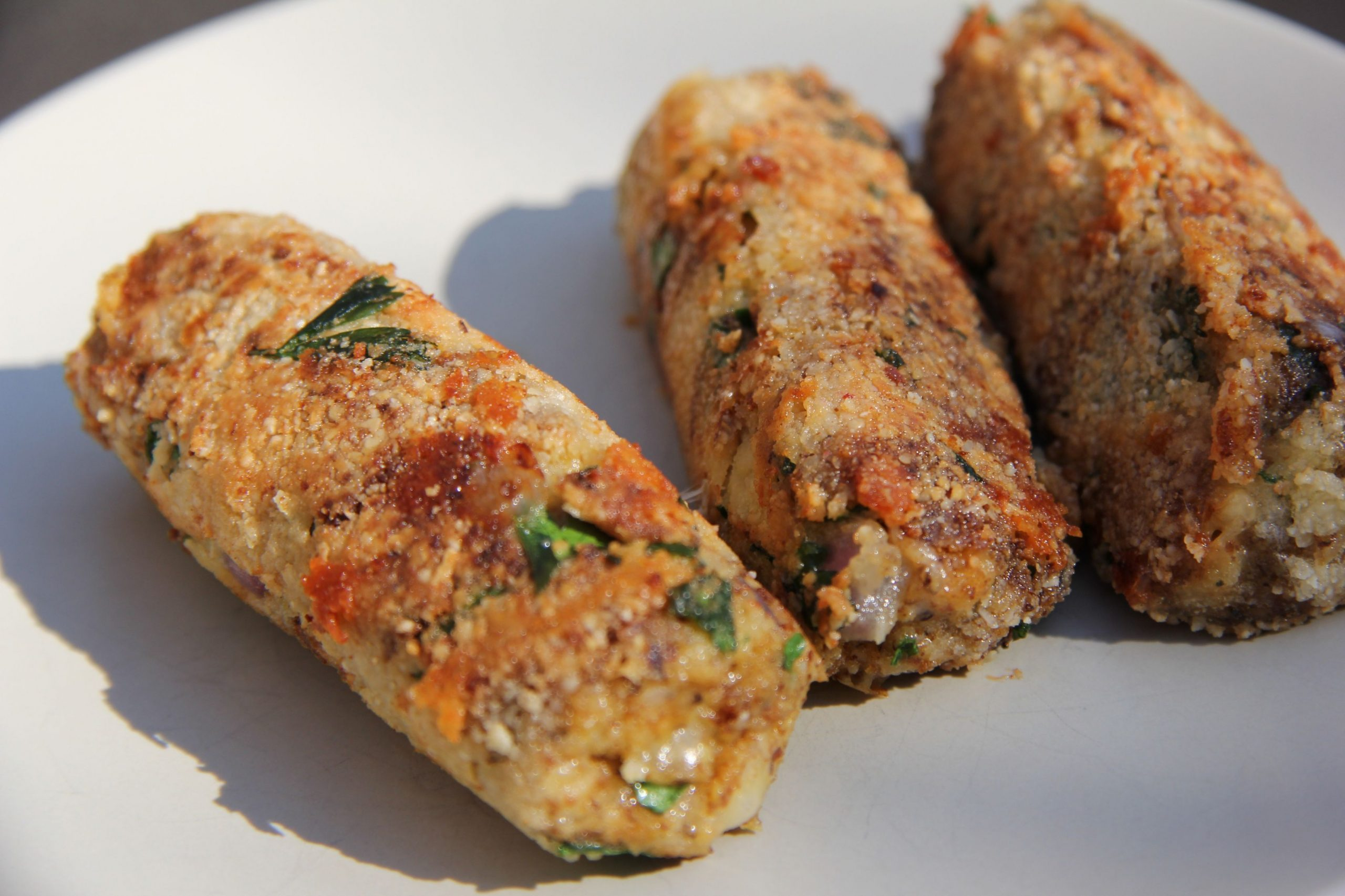 Cheese Vegetarian Sausages | Divalicious In Dubai
