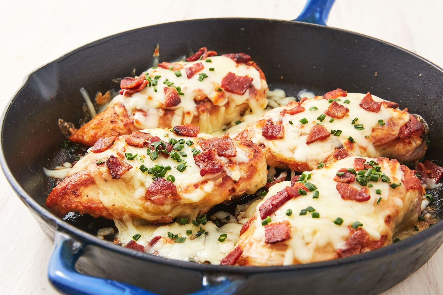 Cheesy Bacon Ranch Chicken - Chicken Breast Ranch Recipes
