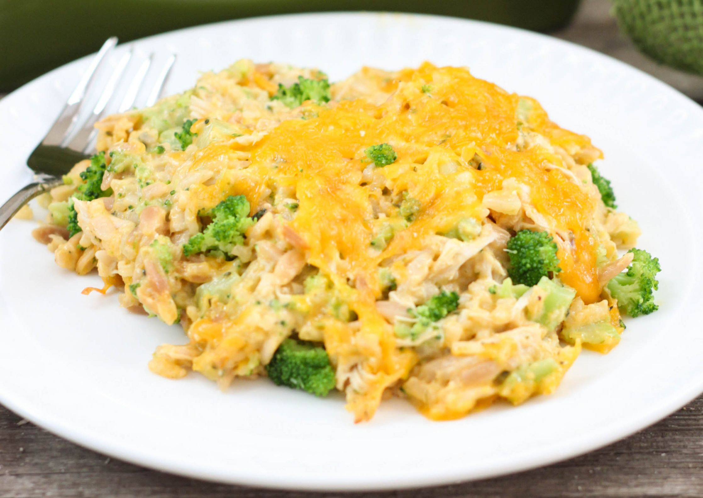 Cheesy Chicken Broccoli Rice Casserole - Recipes Chicken Rice Broccoli