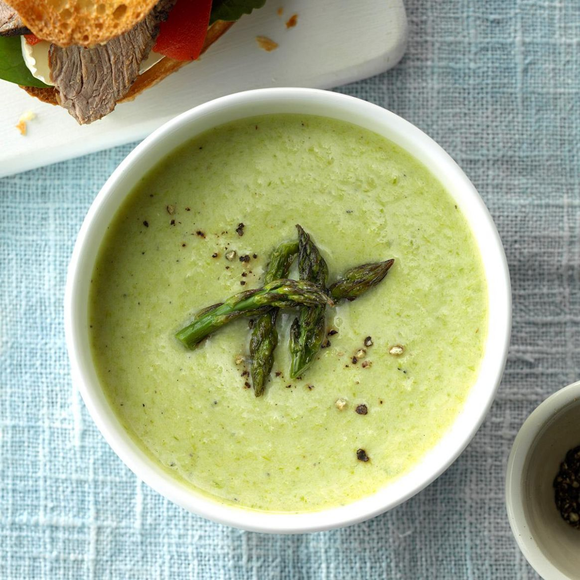 Cheesy Cream of Asparagus Soup - Recipes Asparagus Soup Cream