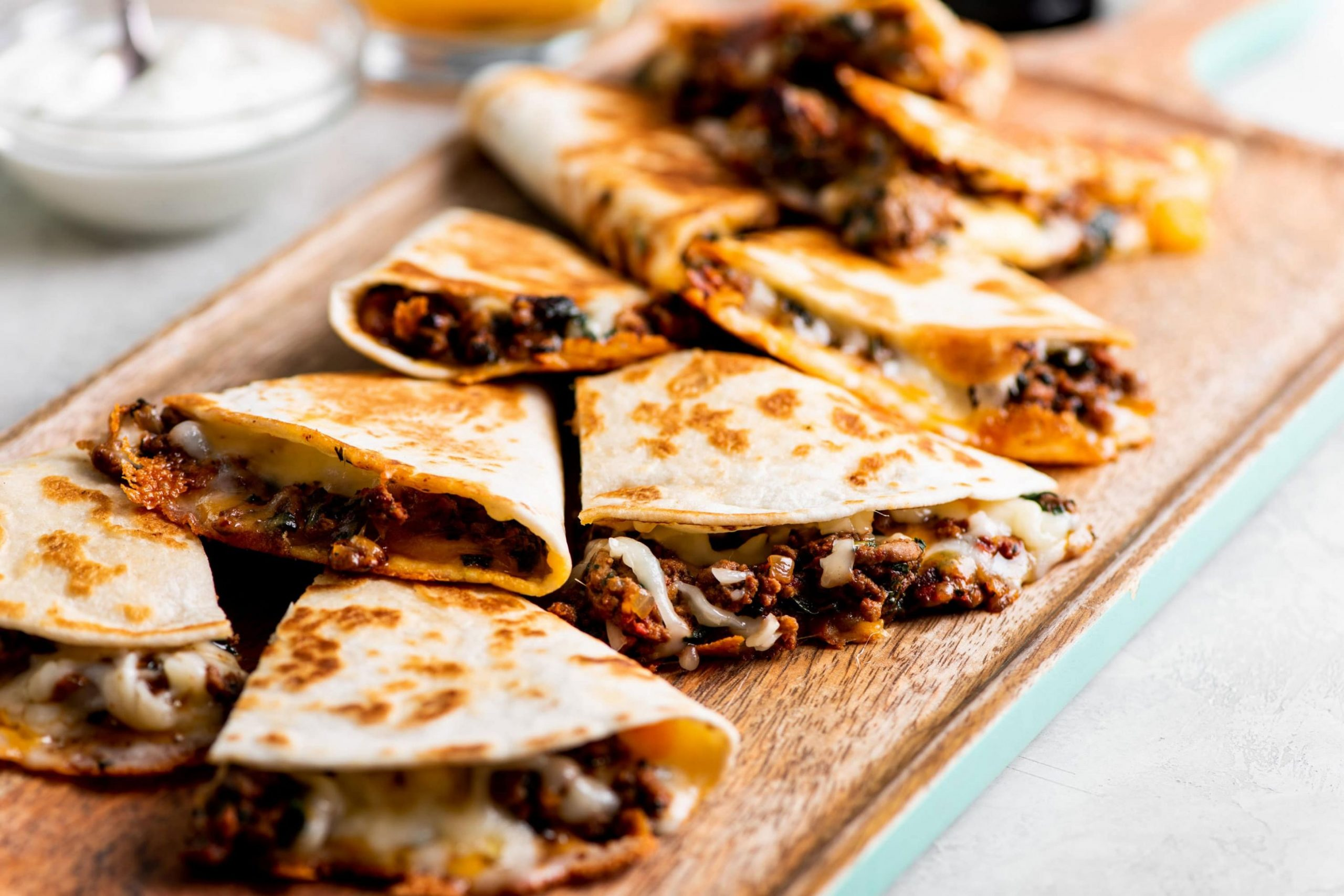 Cheesy Ground Beef Quesadillas - Beef Quesadillas Allrecipes