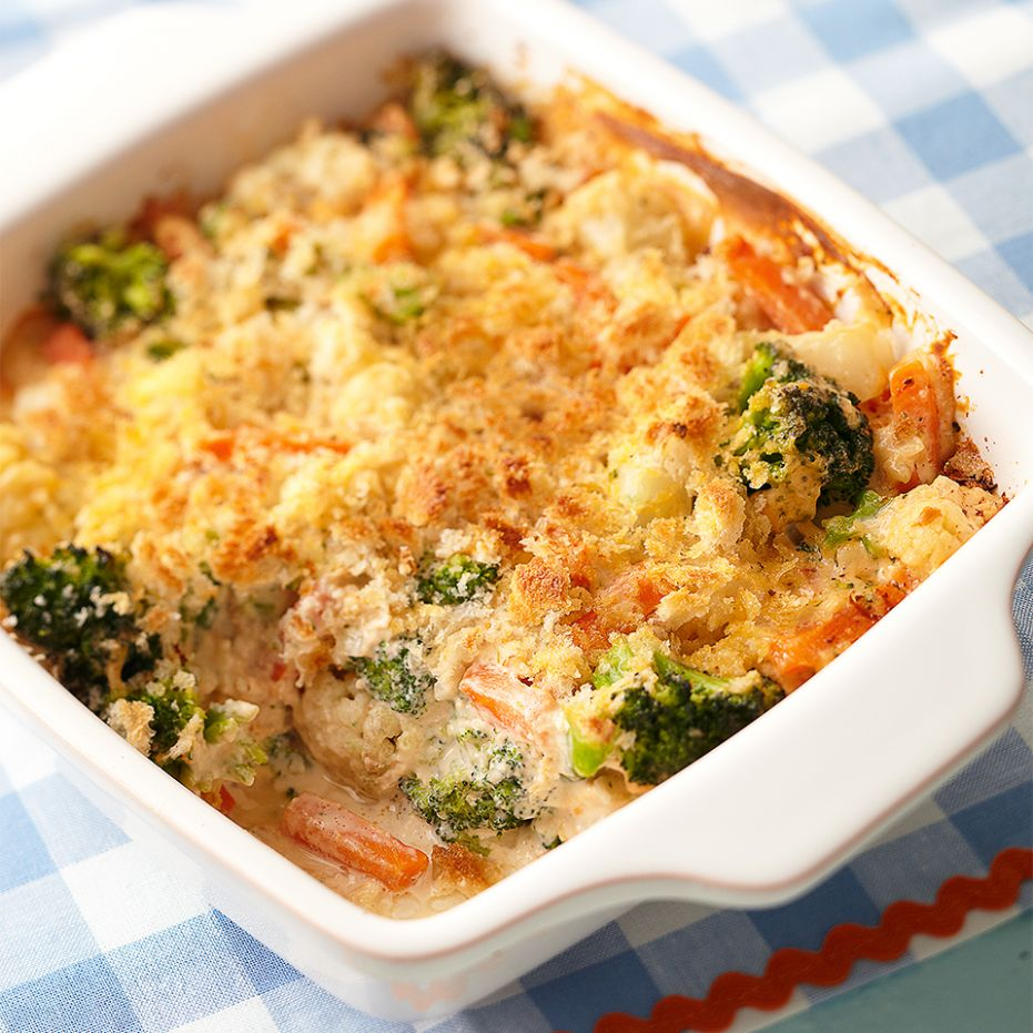 Cheesy Vegetable Bake - Recipes Vegetable Bake