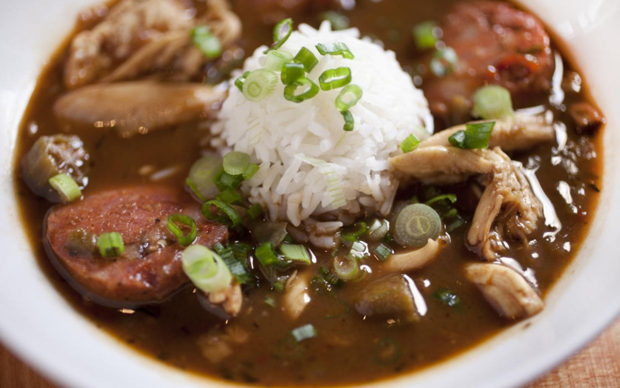 Chicken and Andouille Gumbo - Recipes Chicken Gumbo