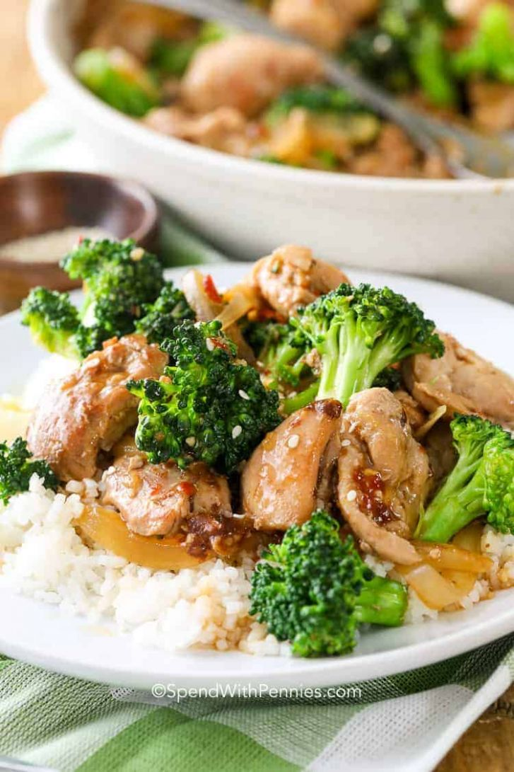 Chicken and Broccoli Stir-Fry - Recipes Chicken Rice Broccoli