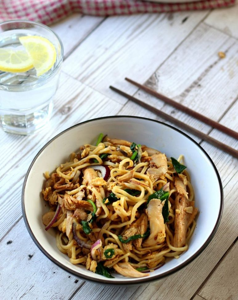 Chicken and Egg Noodles - Recipes Chicken Egg Noodles