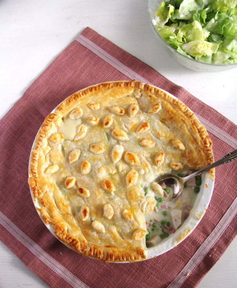Chicken and Ham Pie - Recipes Chicken Ham Pie