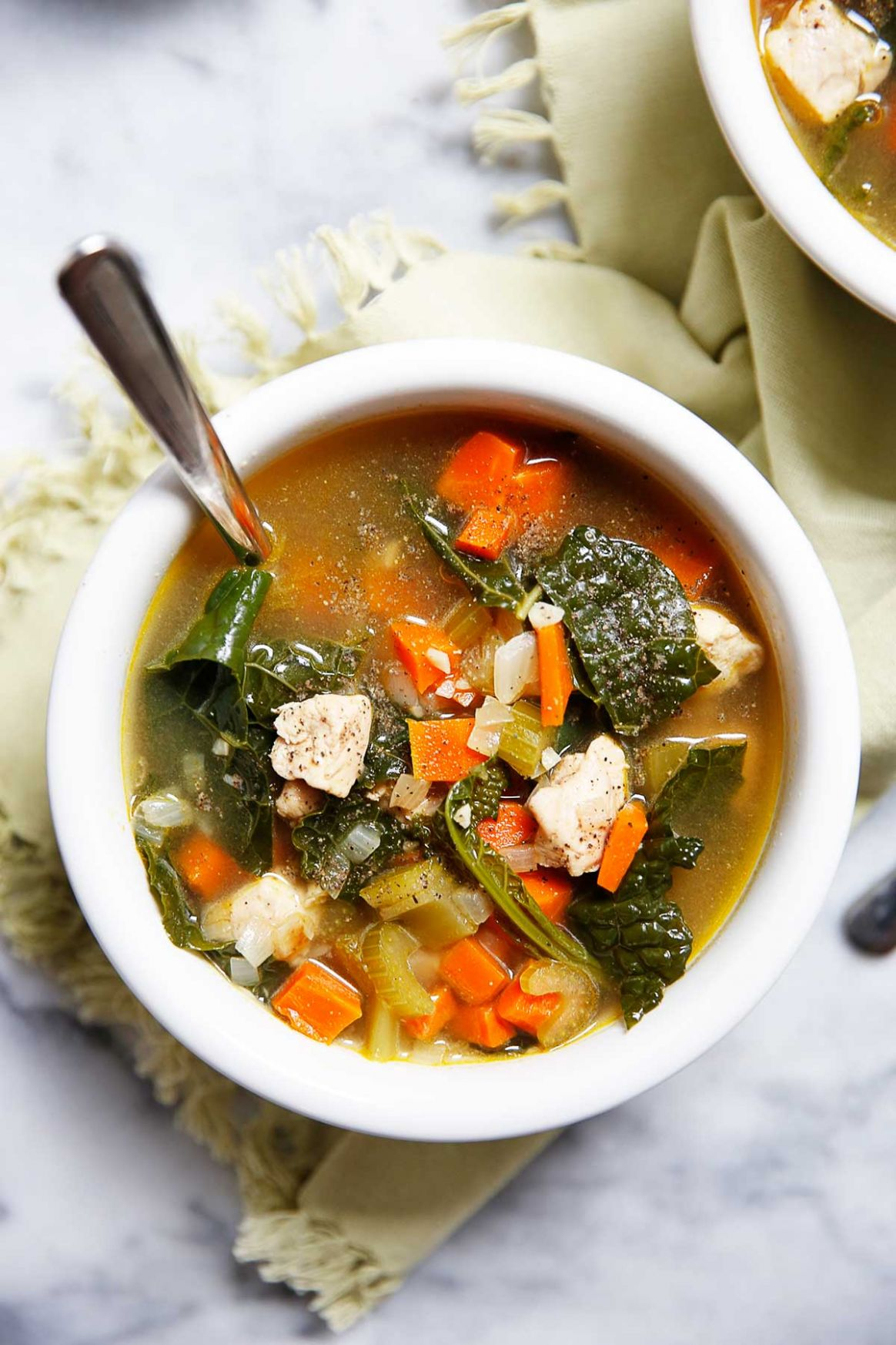 Chicken and Kale Soup - Recipes Kale Soup