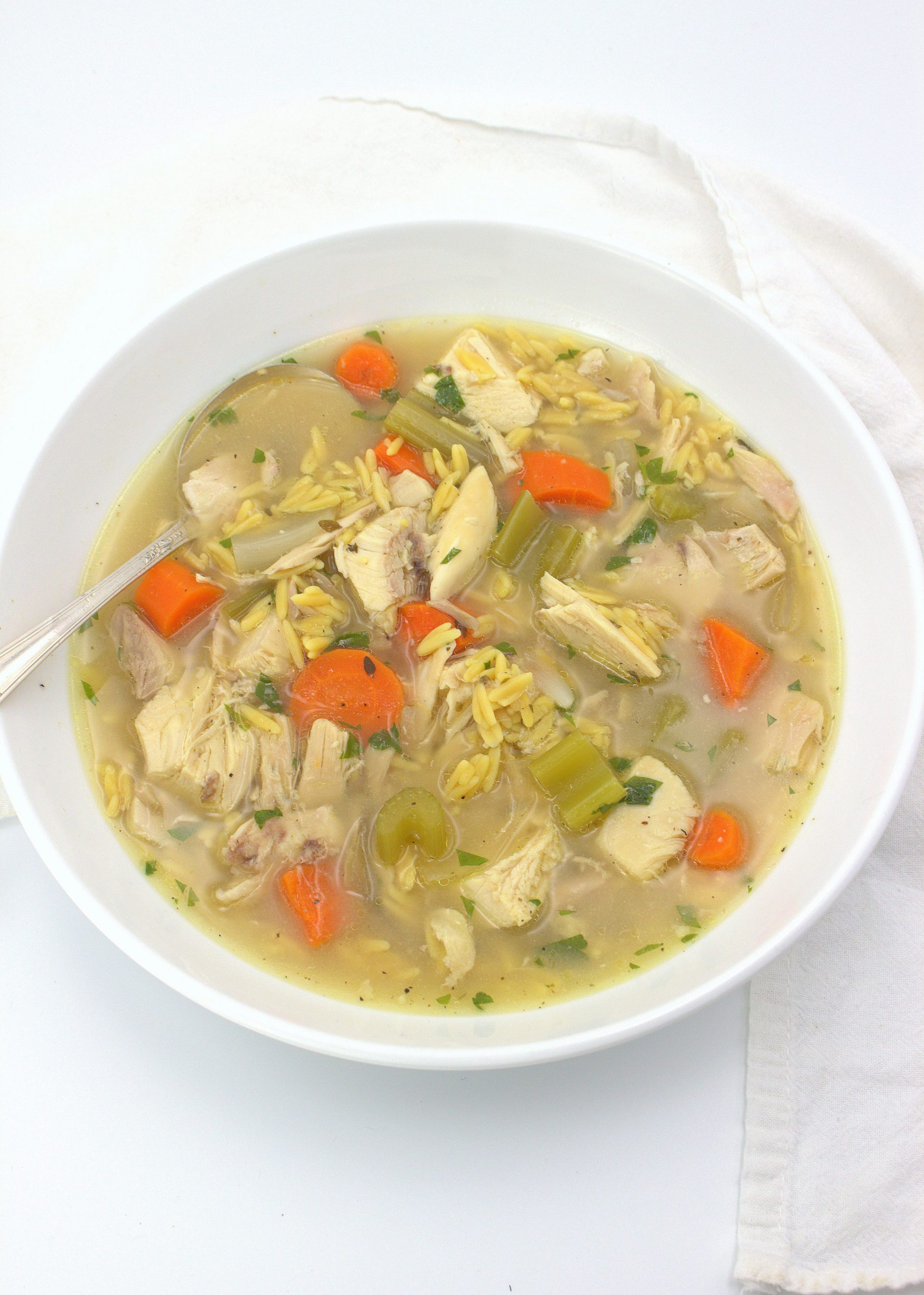 Chicken and Rice Soup (Slow Cooker) – - Cooking Rice Soup