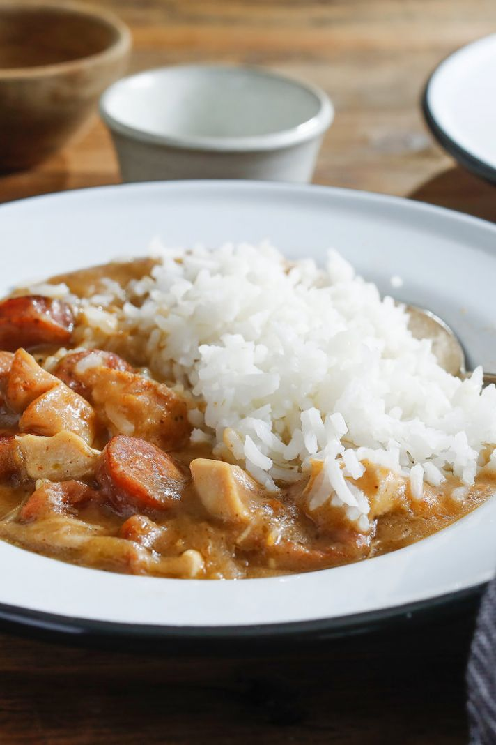 Chicken and Sausage Gumbo - Recipes Chicken Gumbo