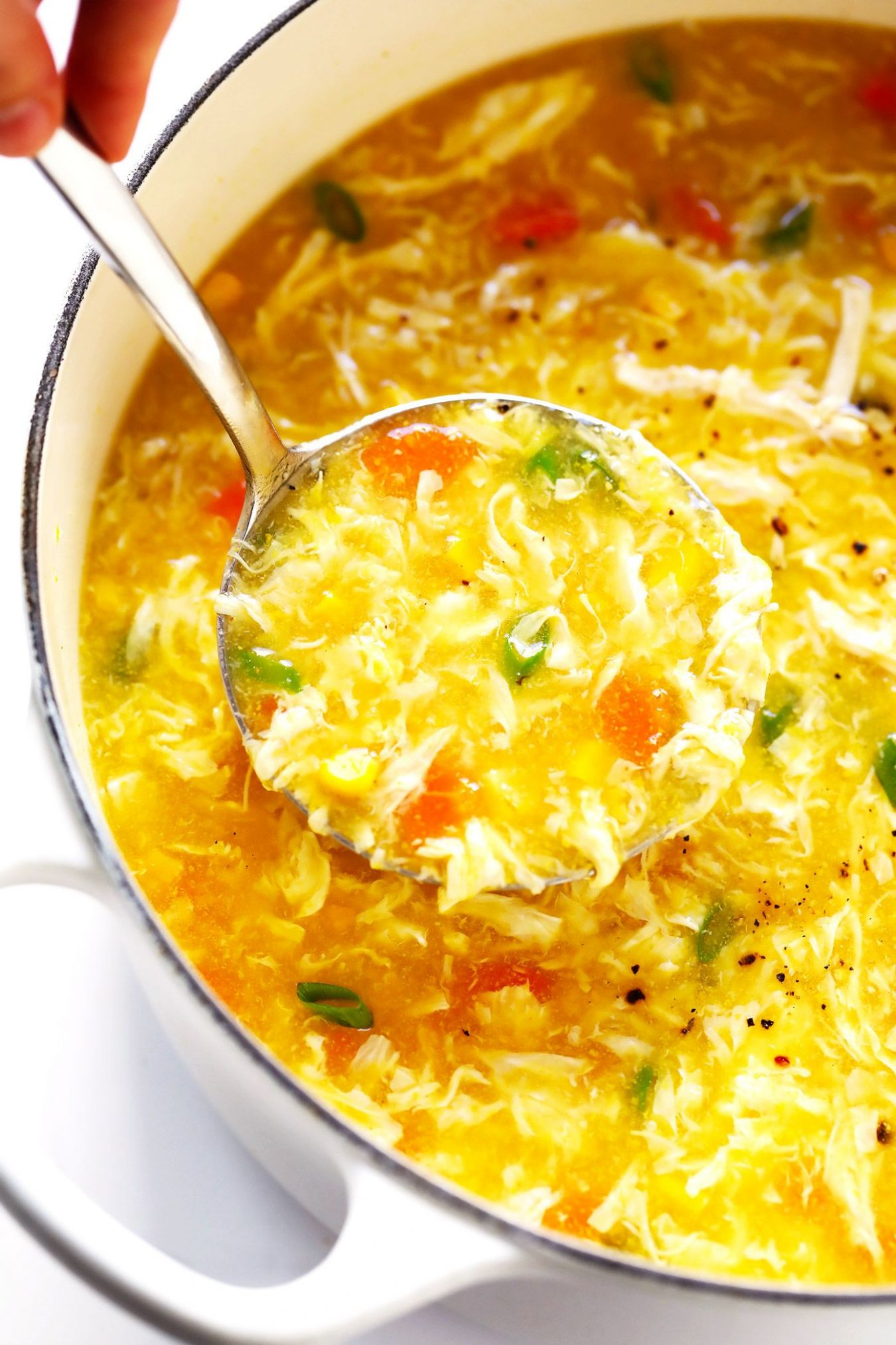 Chicken and Sweet Corn Soup - Recipe Egg Drop Soup Chicken