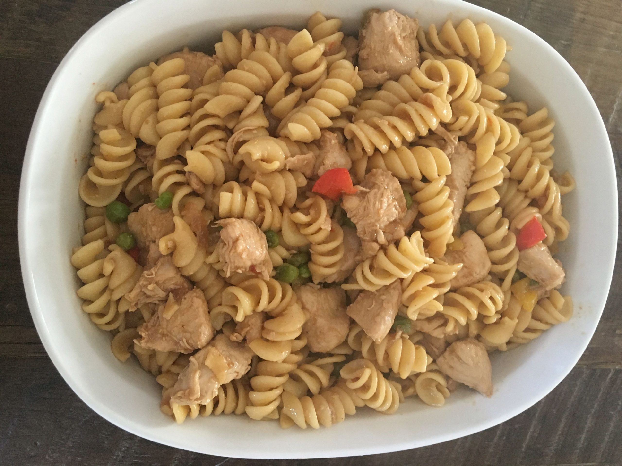 Chicken and Vegetable Pasta - Super Urdu Mom - Recipes Of Pasta In Urdu