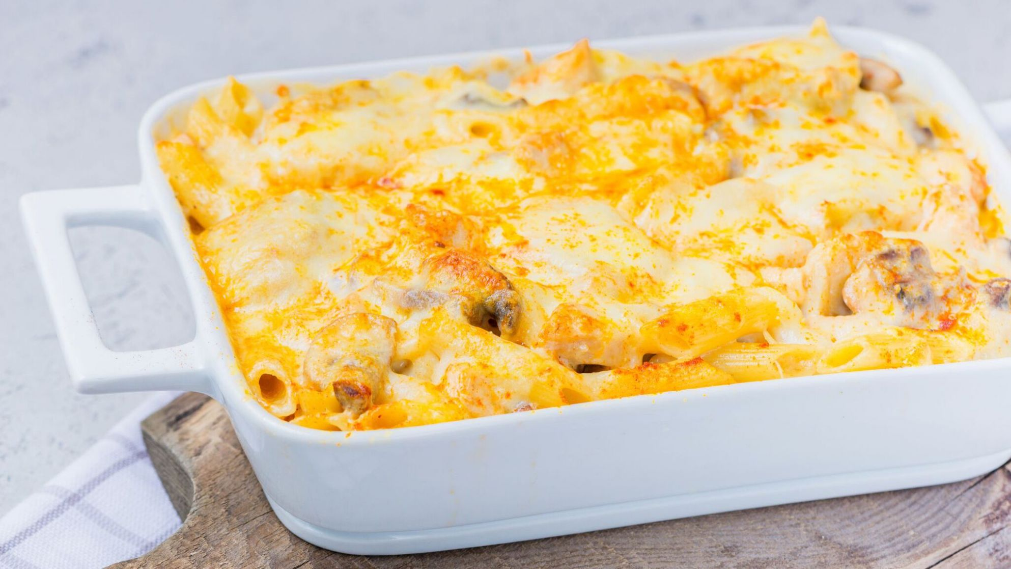 Chicken, Cheese, and Penne Pasta Bake - Recipes Chicken Pasta Bake