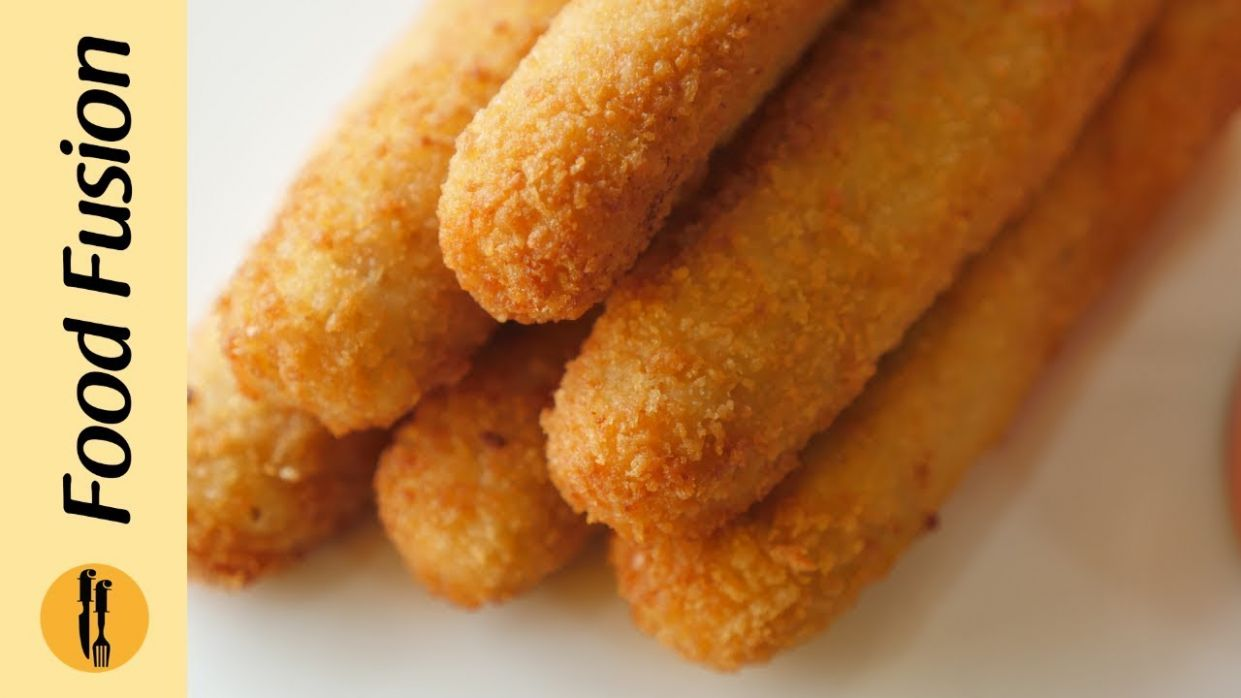 Chicken Cheese Fingers Recipe By Food Fusion - Recipes Urdu Xxi