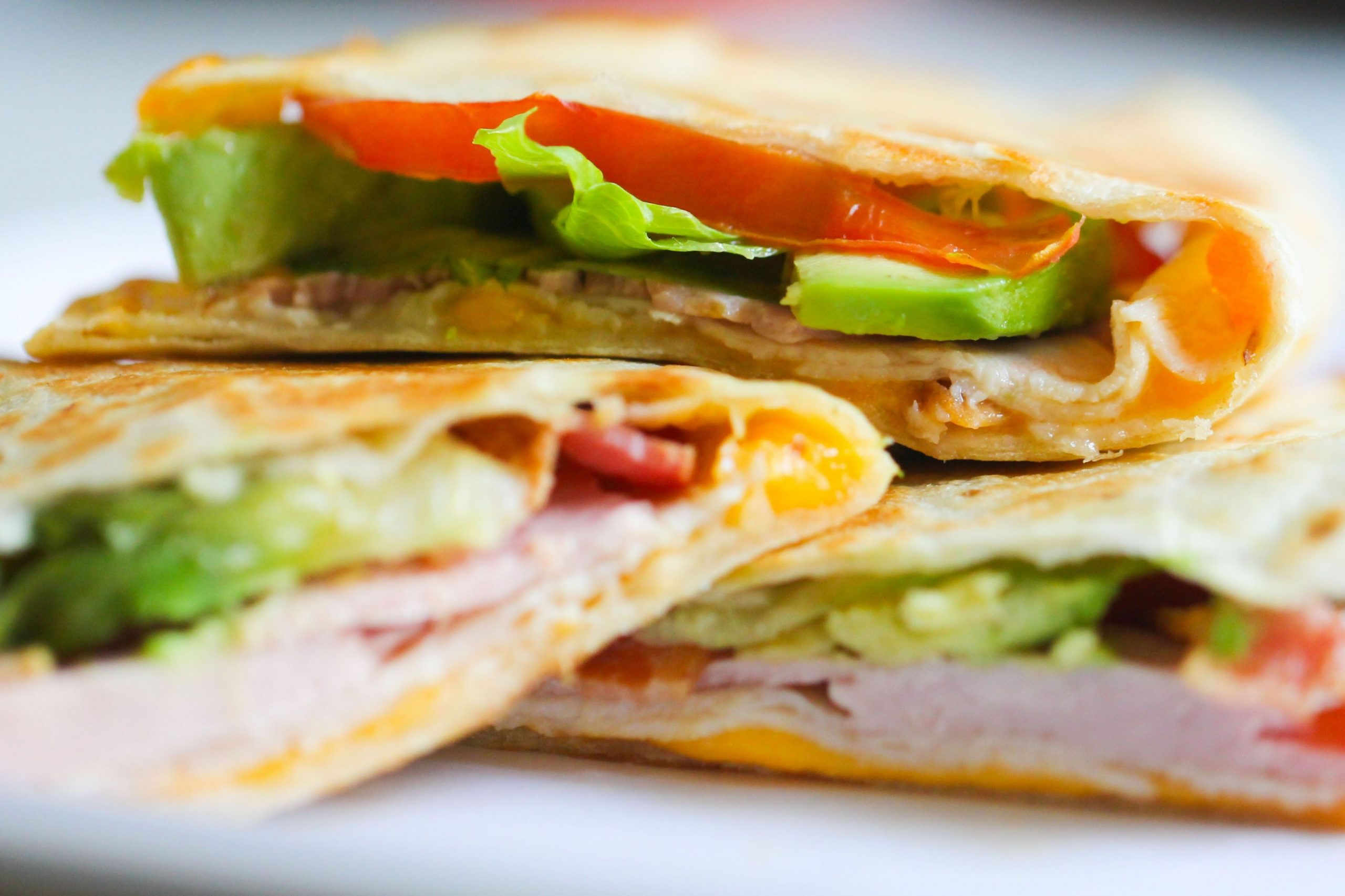 Chicken Club Quesadillas - Summer Quesadilla Recipes