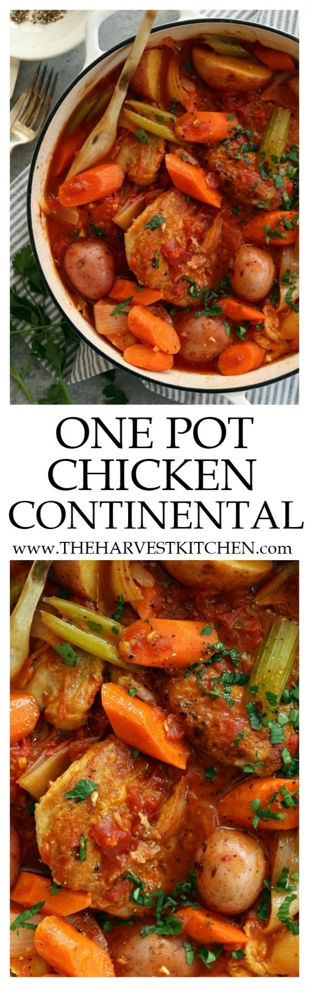 Chicken Continental - The Harvest Kitchen - Food Recipes Continental