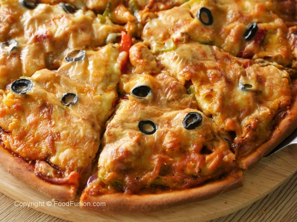 Chicken Fajita Thin Crust Pizza – Food Fusion