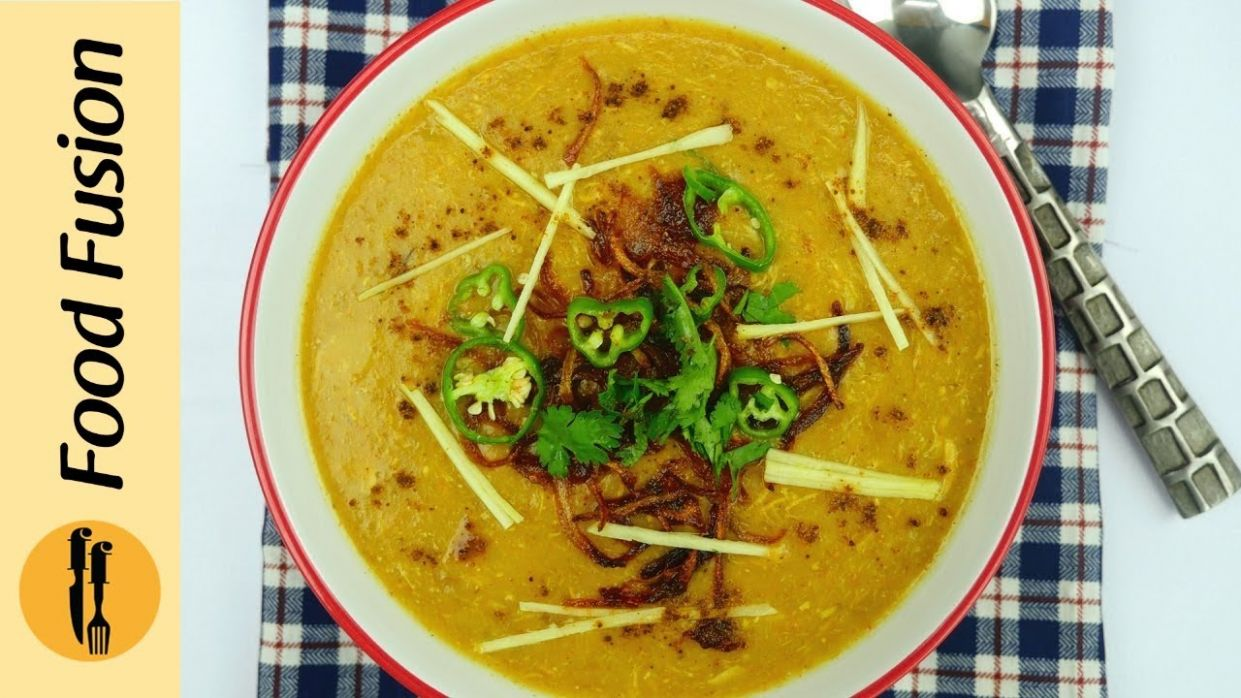 Chicken Haleem Recipe By Food Fusion - Pakistani Food Recipes Urdu Haleem