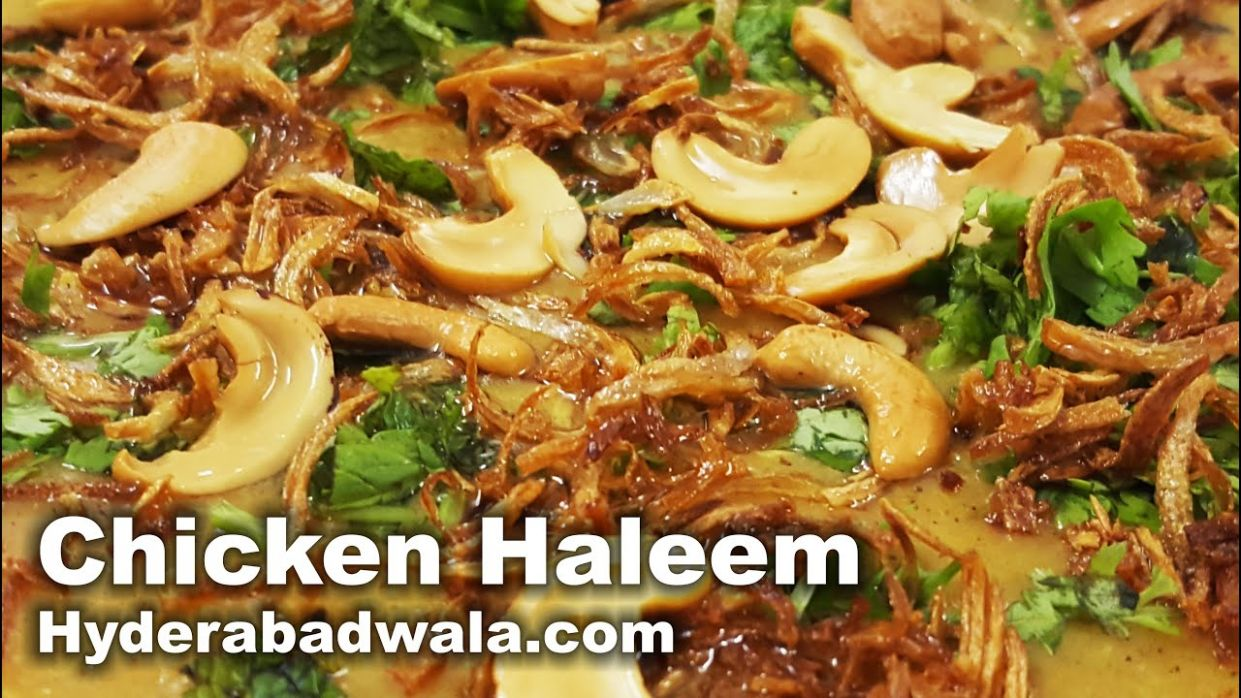 Chicken Haleem Recipe Video – How to Make Hyderabadi Murghi Ki Haleem at  Home – Easy & Simple - Simple Recipes Video