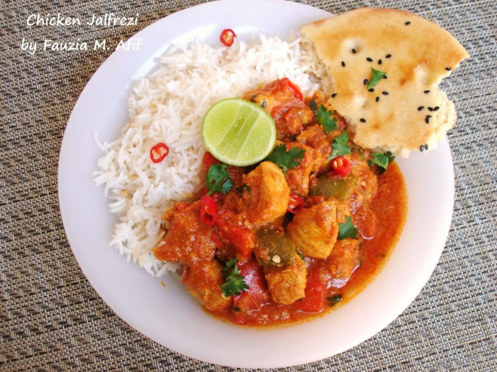 Chicken Jalfrezi - Fauzia's Kitchen Fun