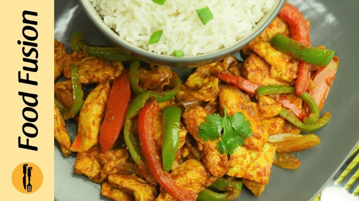Chicken Jalfrezi Recipe By Food Fusion - Recipes Chicken Jalfrezi