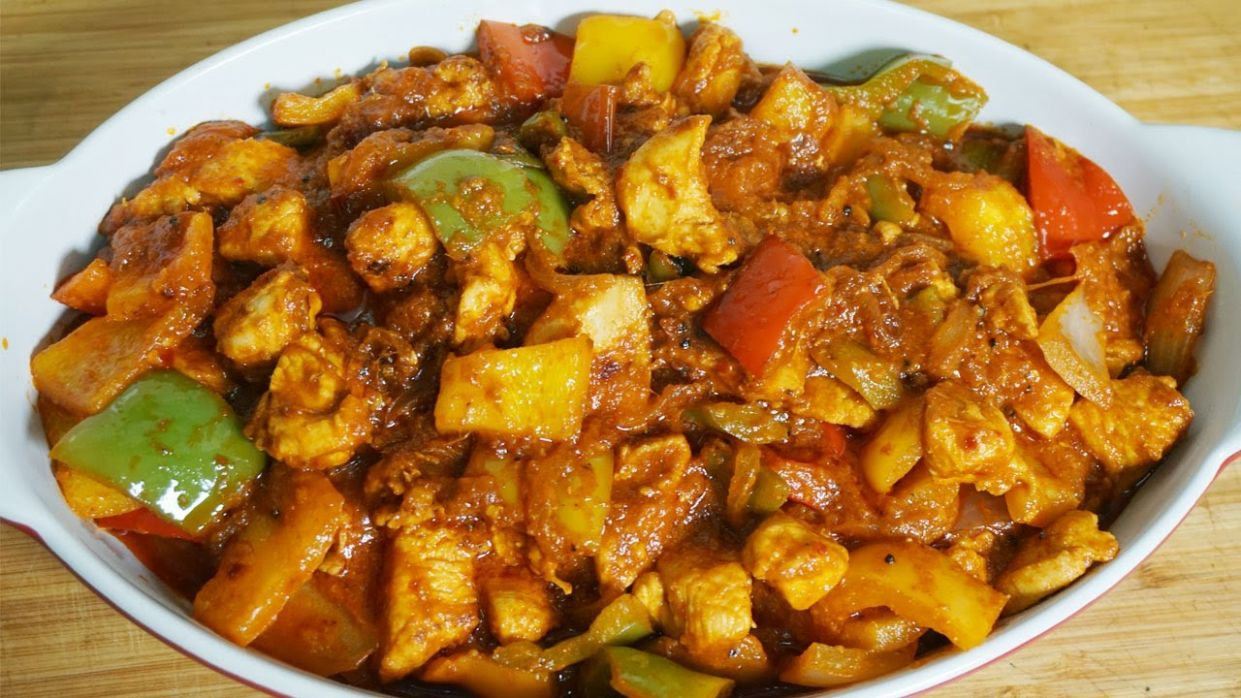 Chicken Jalfrezi Recipe - Restaurant Style With English Subtitle Recipe By  Cook With Fariha