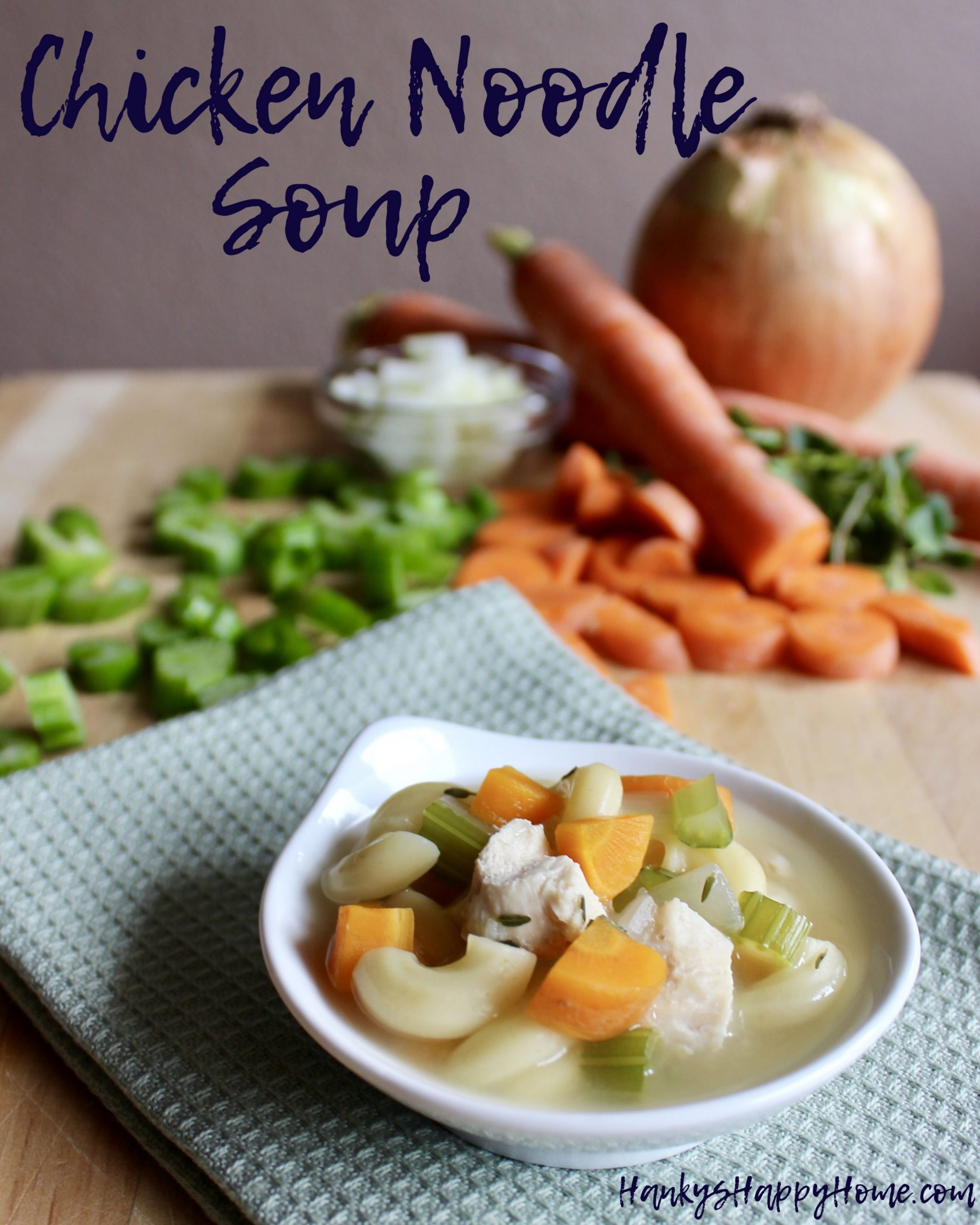 Chicken Noodle Soup Baby Food - Soup Recipes For Babies