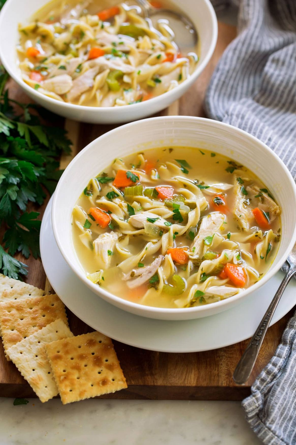Chicken Noodle Soup - Recipes Chicken Soup