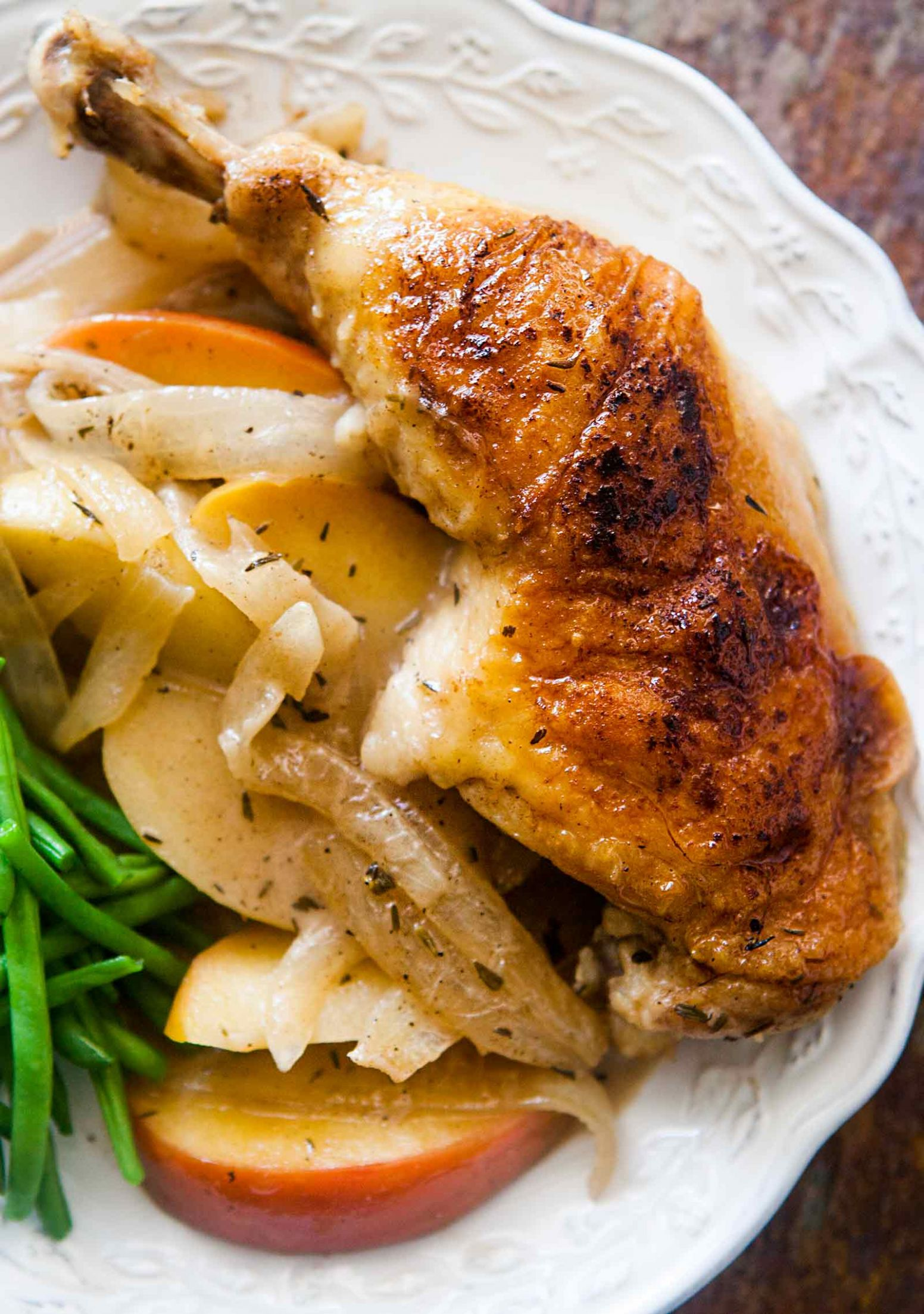 Chicken Normandy - Dinner Recipes Apple
