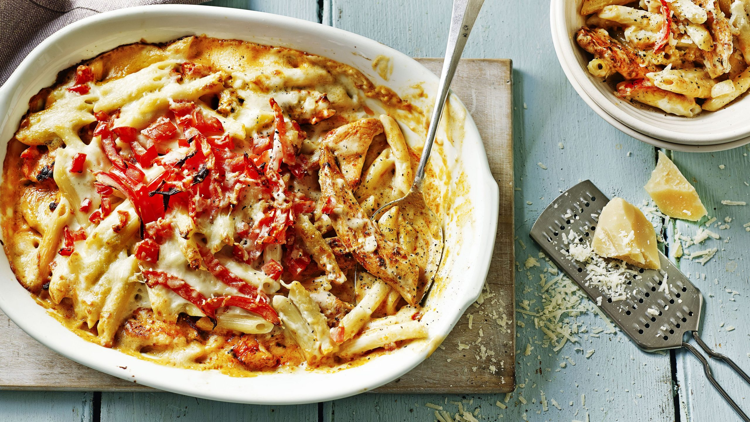 Chicken pasta bake - Recipes Chicken Uk