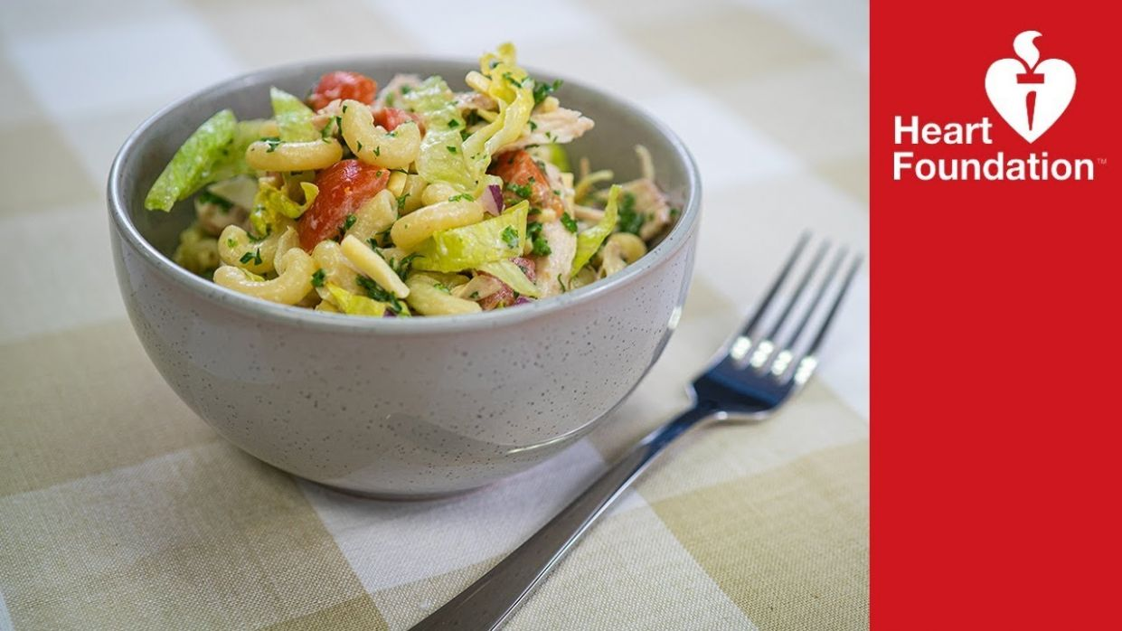 Chicken pasta salad | Healthy Recipes & Meal Ideas | Heart Foundation NZ - Healthy Recipes Nz