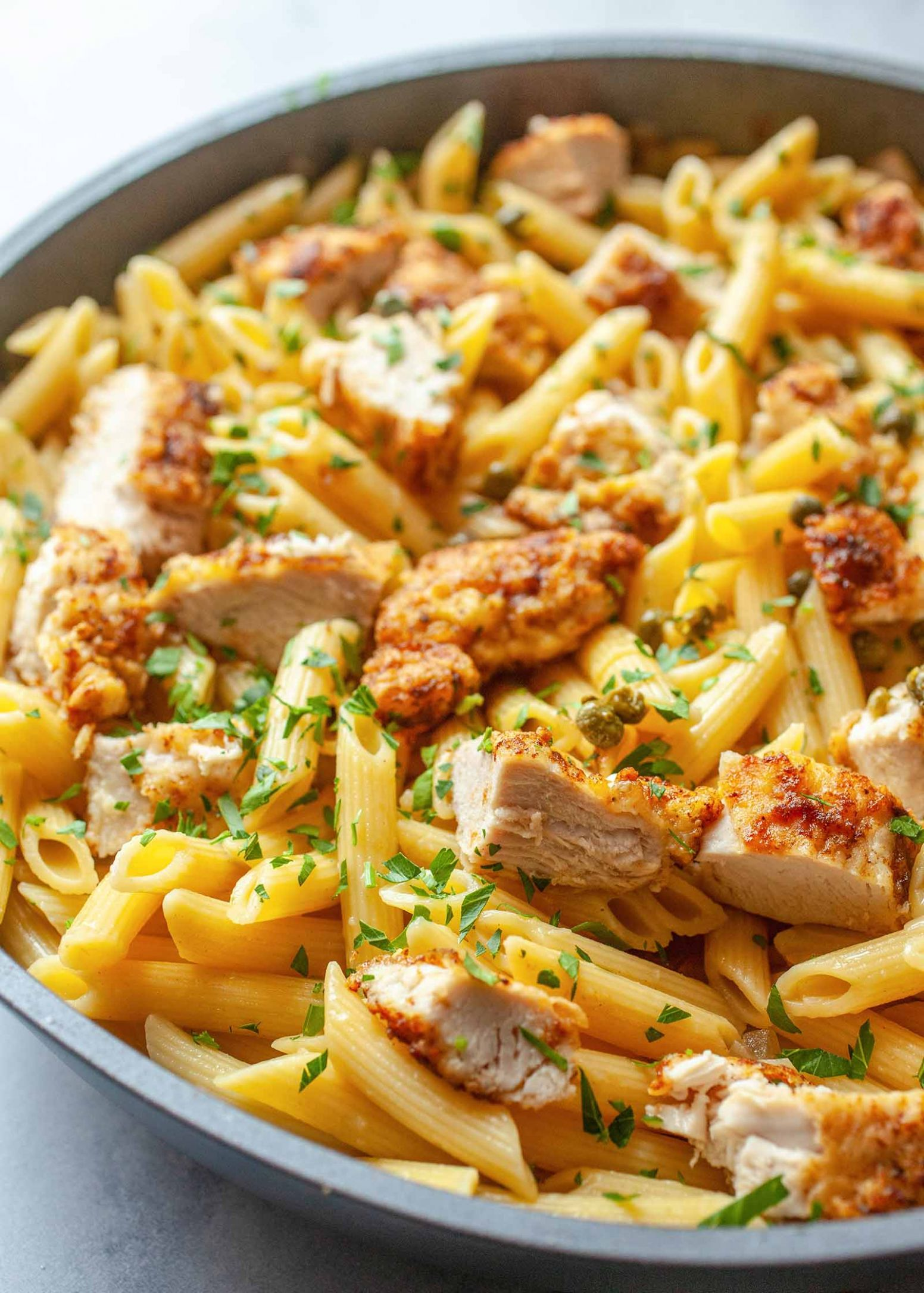 Chicken Piccata Pasta - Recipes Chicken Pasta