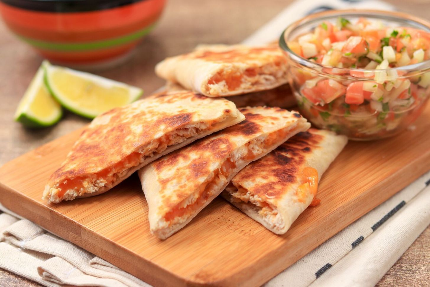Chicken Quesadillas - Recipes Chicken Leftovers