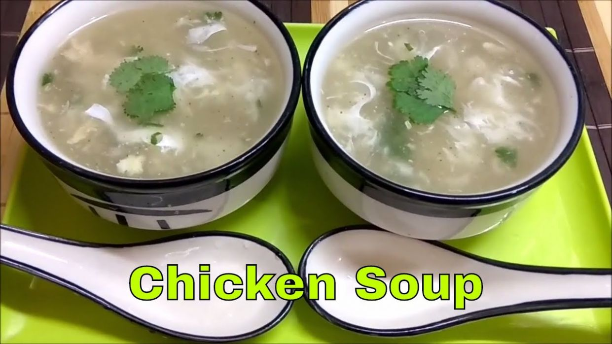 Chicken Soup Recipe in Hindi Urdu Englishचिकन सूप ...