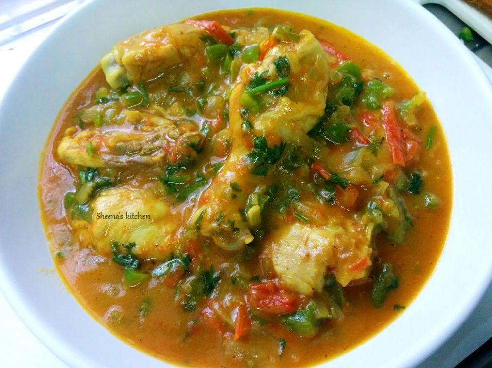 Chicken Stew Kenyan style - Sheena's Kitchen