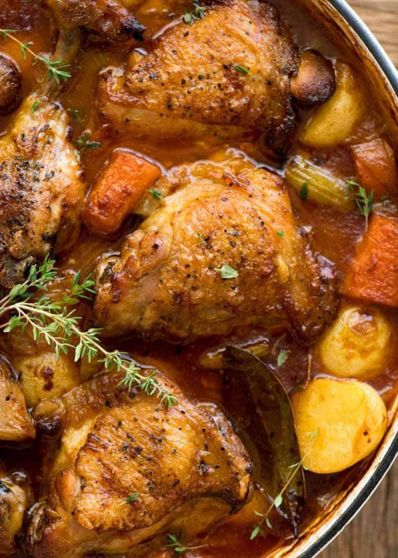 Chicken Stew - Recipes Chicken Drumsticks Casserole