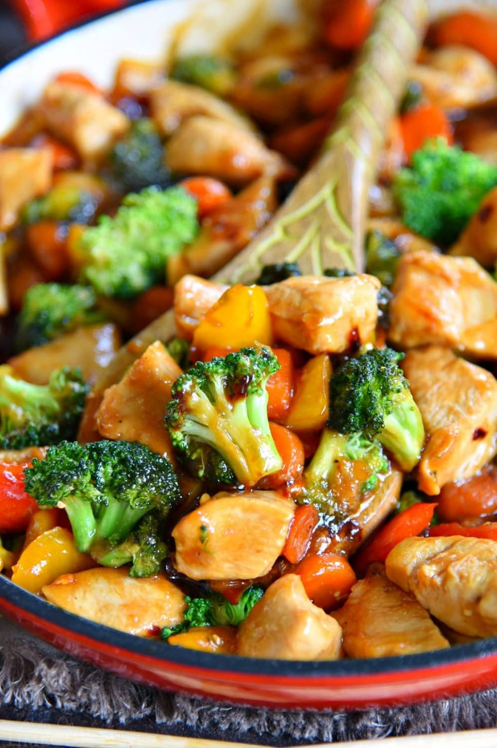 Chicken Stir Fry Recipe - Simple Recipes With Chicken