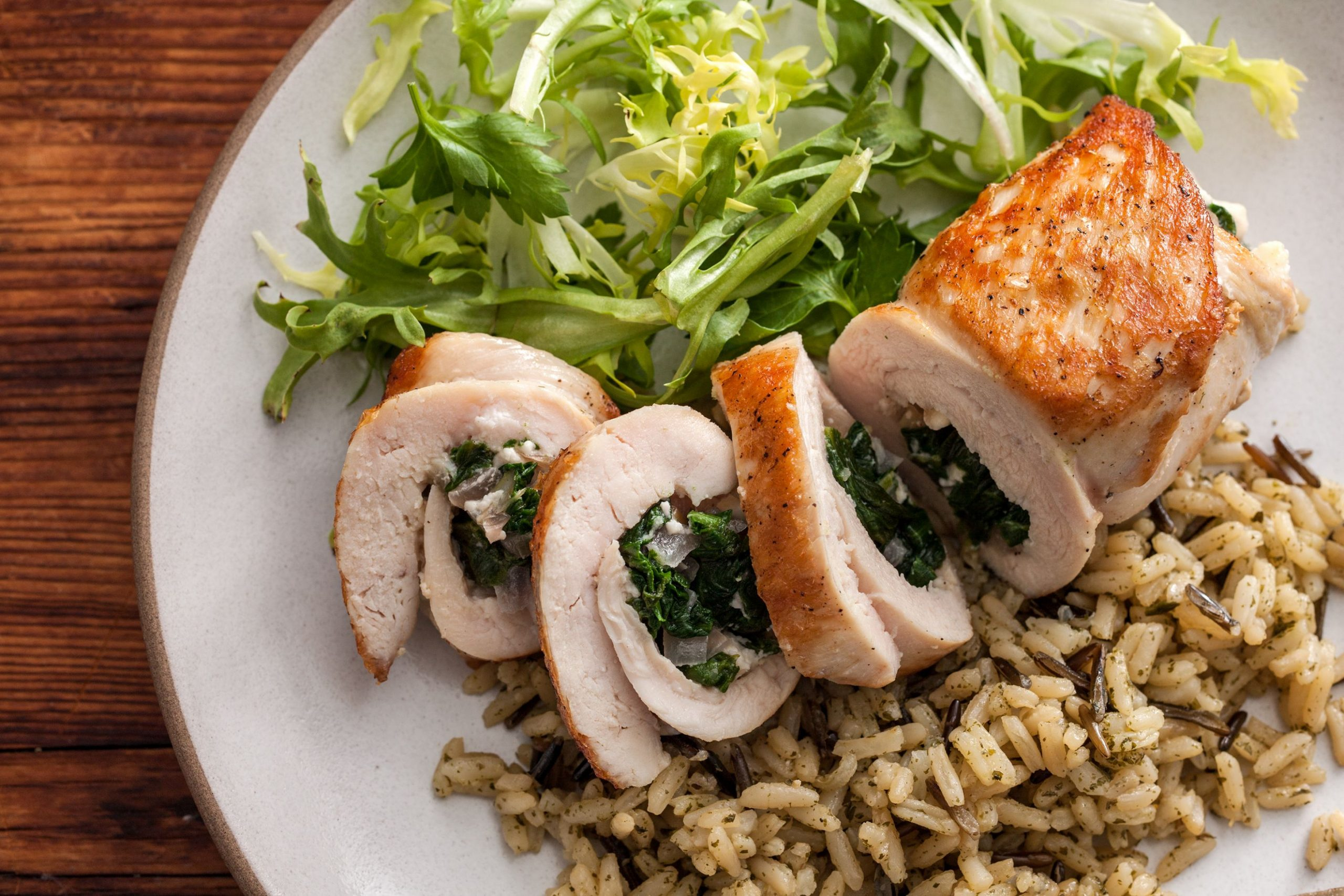 Chicken Stuffed with Spinach and Feta - Recipes Chicken Breast And Spinach