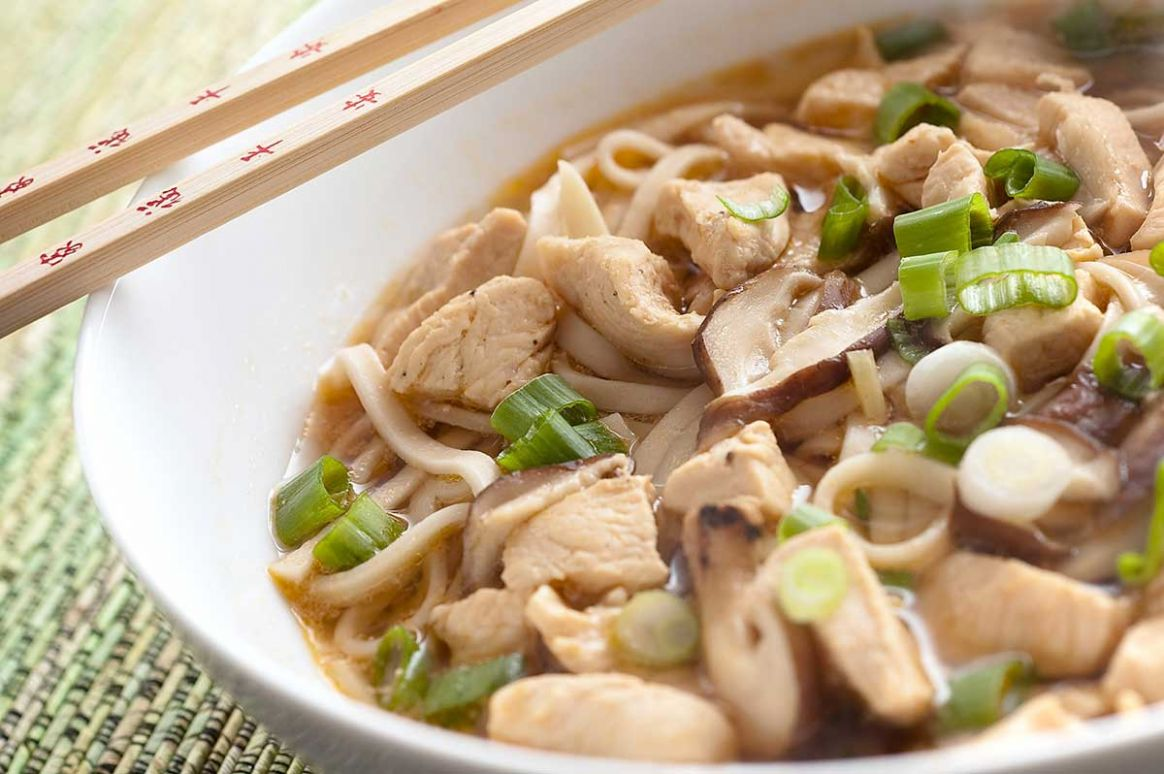 Chicken Udon Noodle Soup Recipe - Recipe Chicken Udon