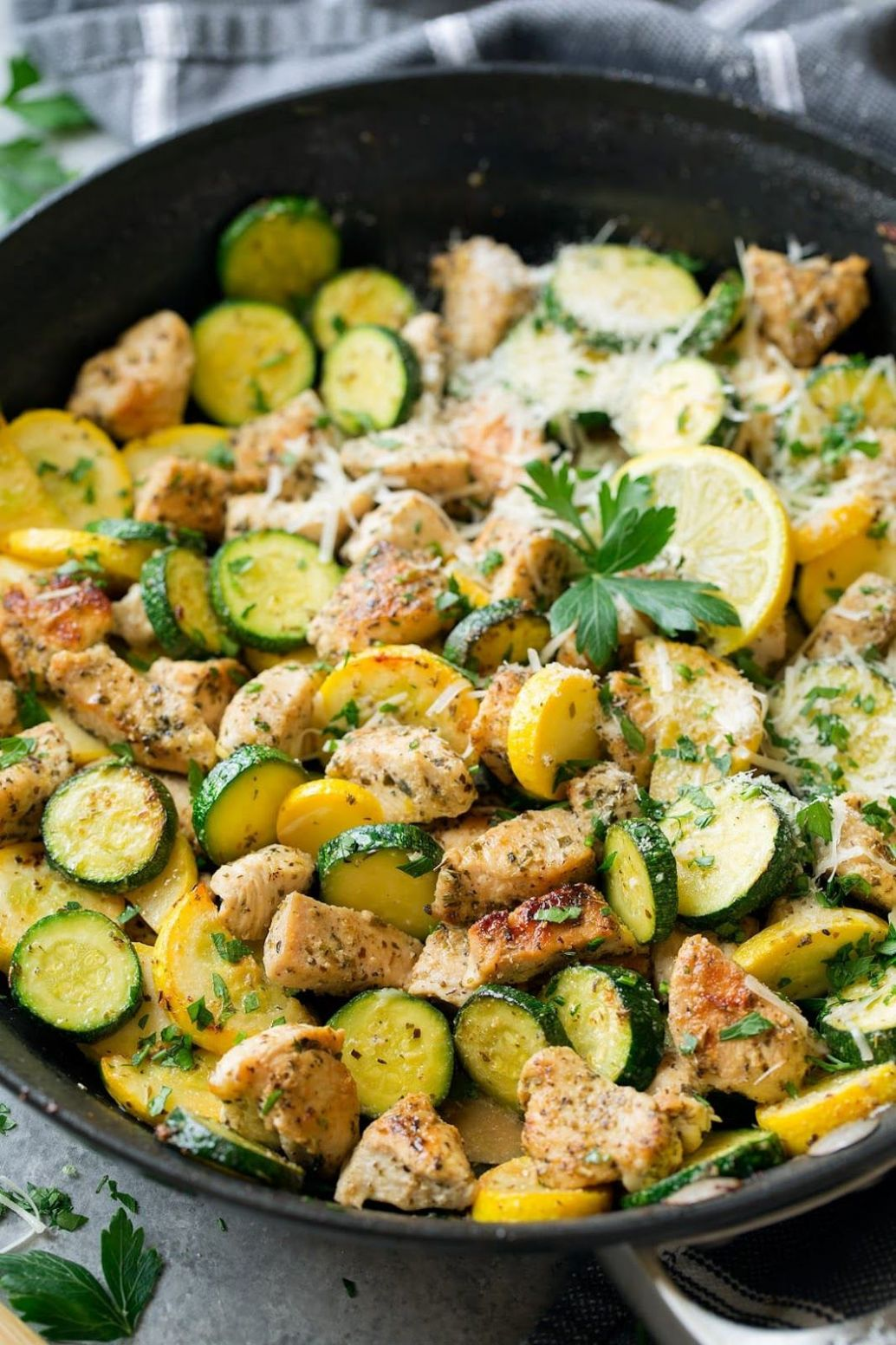 Chicken Zucchini Squash Recipes-A healthy Poultry recipe! This ...