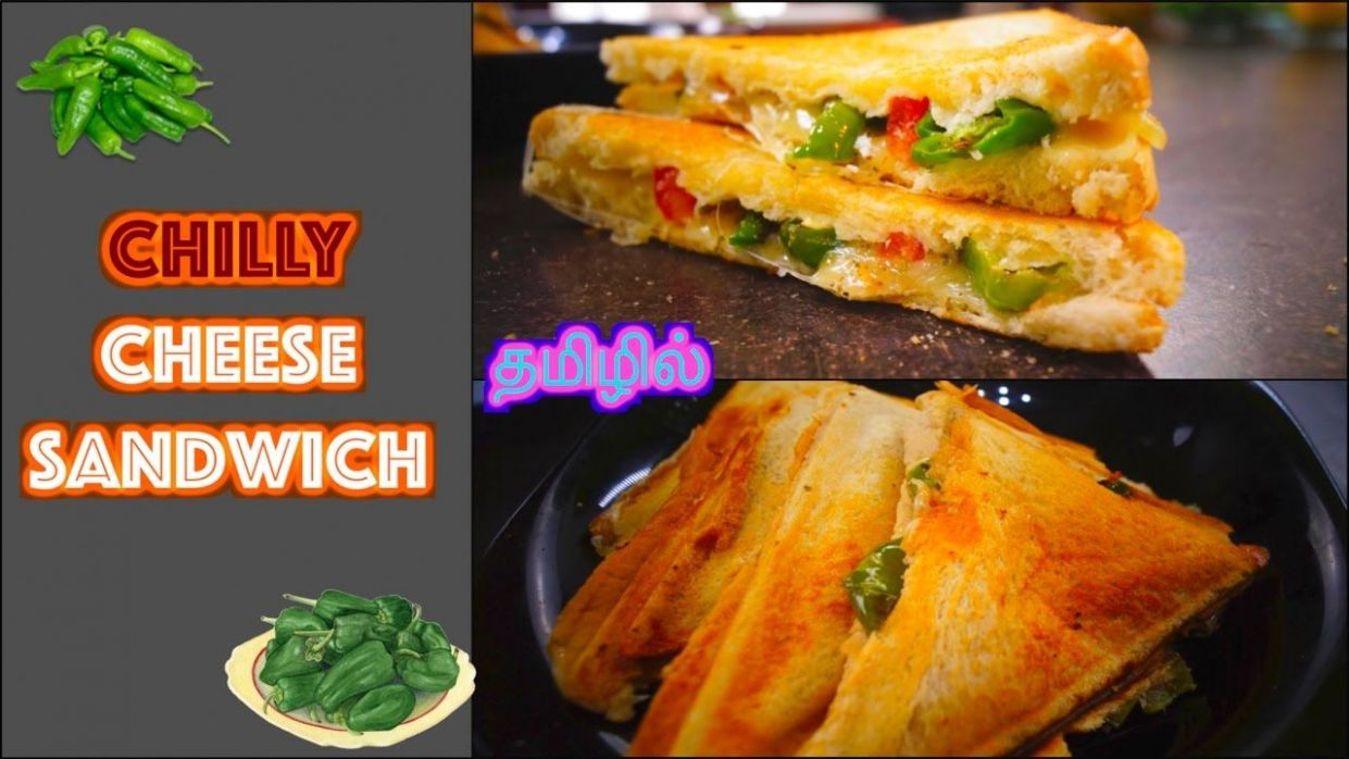 Chilly Cheese Sandwich - in Tamil | Spicy & Yummy - Dosa to Pizza ..