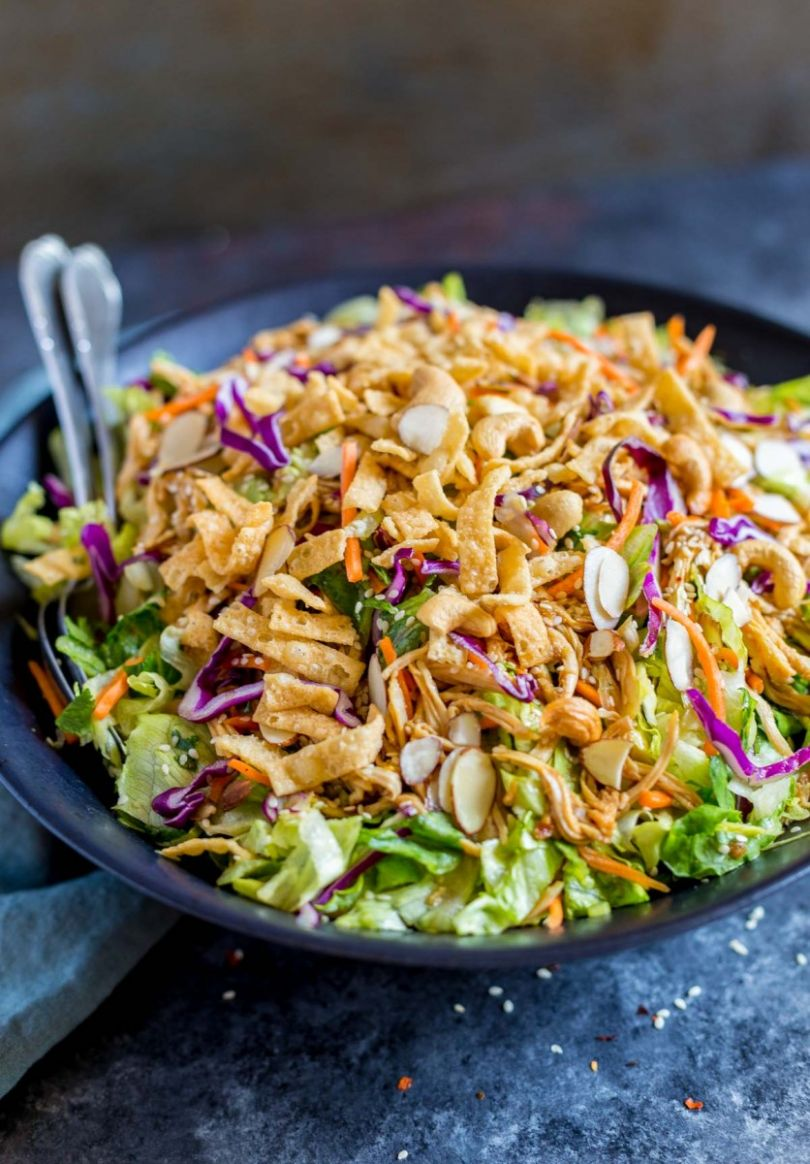 Chinese Chicken Salad - Salad Recipes Asian