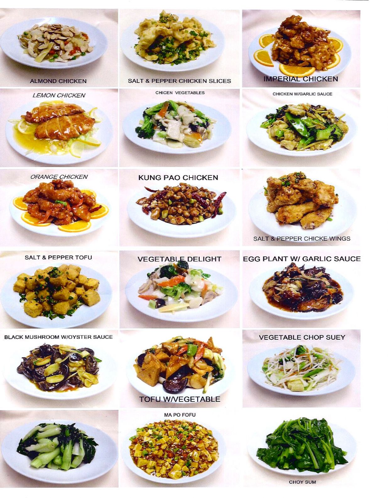 Chinese Dishes: Names Of Chinese Dishes - Food Recipes Names