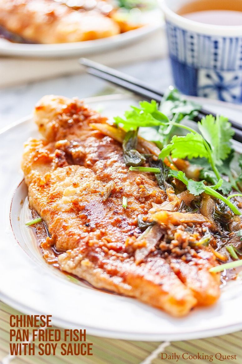 Chinese Pan Fried Fish with Soy Sauce - Fish Recipes Names