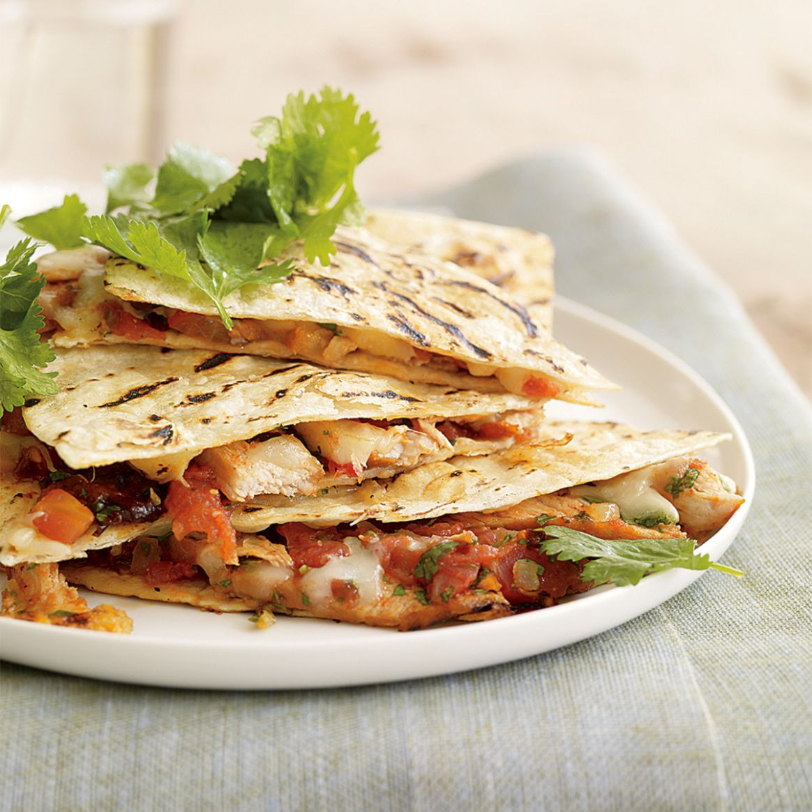 Chipotle Pork Quesadillas - Recipe Pork Quesadillas