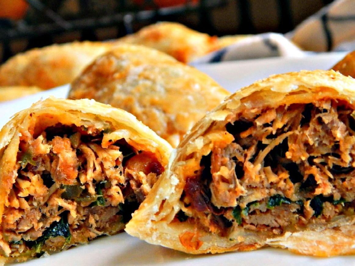 Chipotle Pulled Pork Empanadas - from Leftovers?