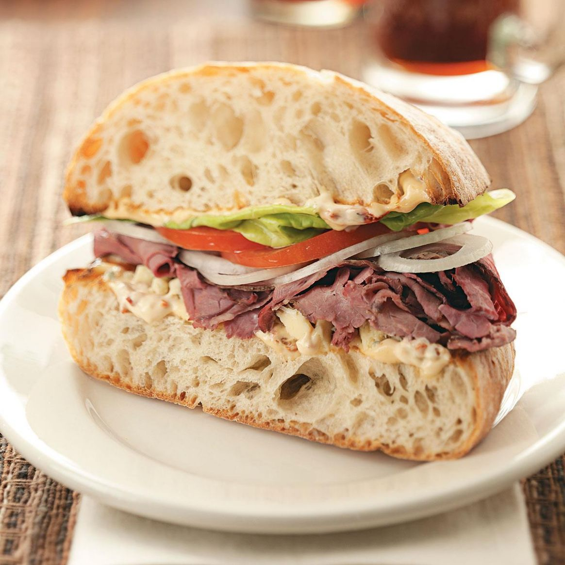 Chipotle Roast Beef Sandwiches - Sandwich Recipes Roast Beef